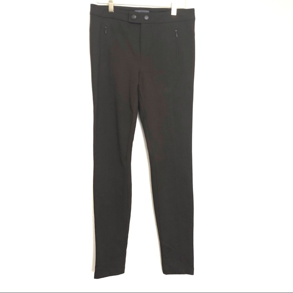 Vince Pants - Vince Brown Skinny Stretch Trousers Size 6